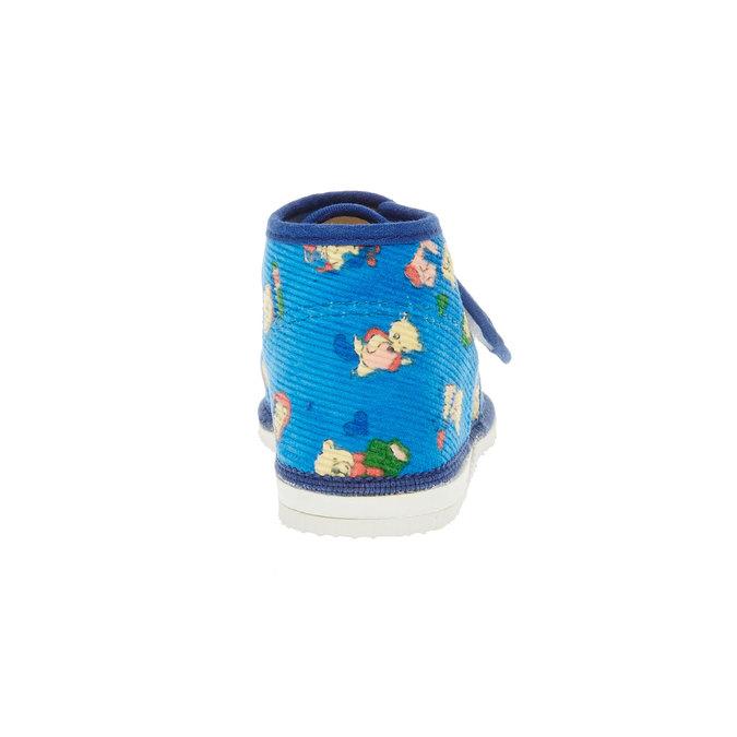 dětská domácí obuv bata, 179-9010 - 17