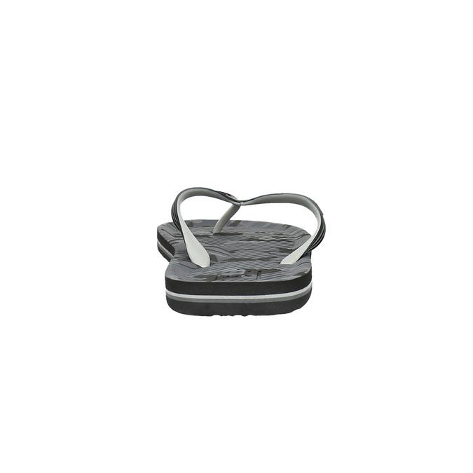 Pánské žabky quiksilver, černá, 871-6003 - 17