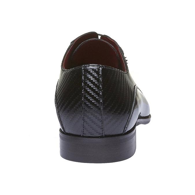 Kožené pánské Oxfordky conhpol, černá, 838-6100 - 17