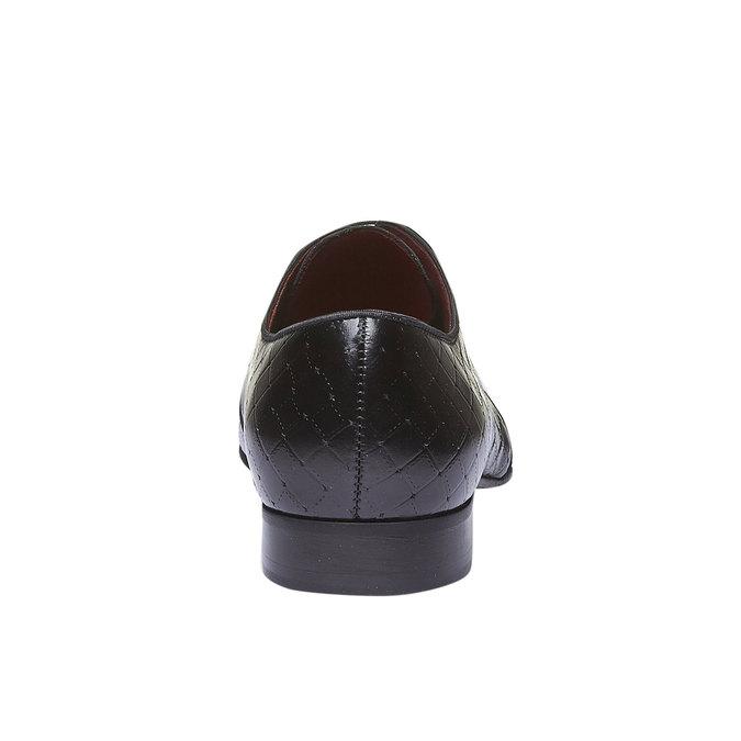 Kožené polobotky conhpol, černá, 824-6143 - 17