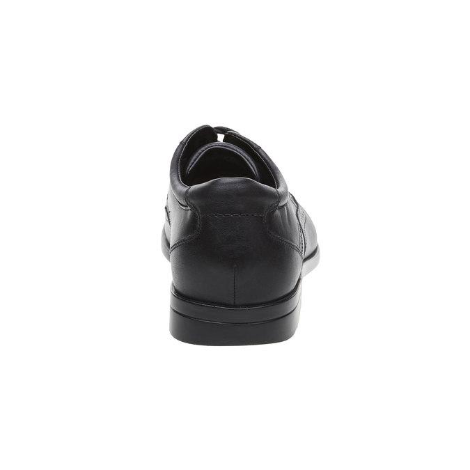 Kožené polobotky rockport, černá, 824-6125 - 17