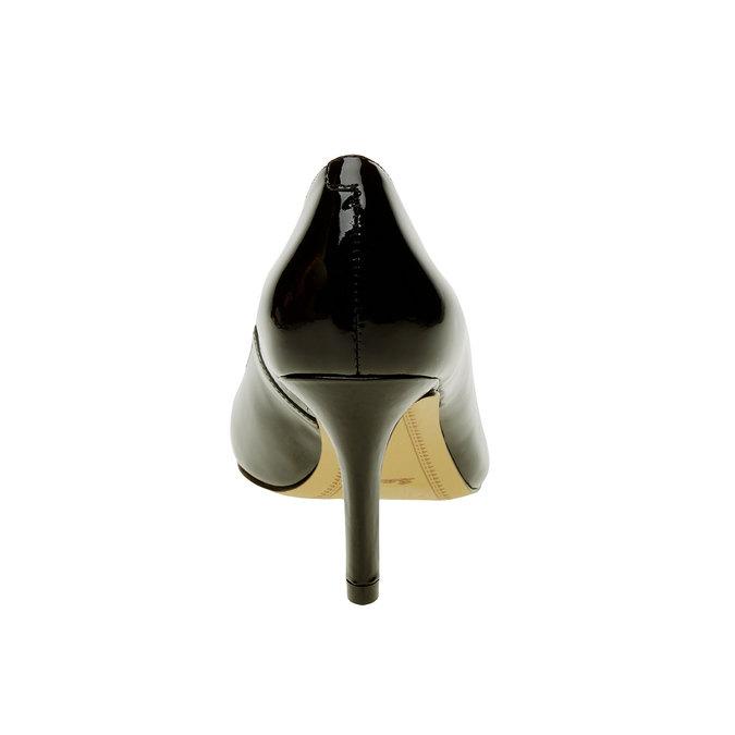 Dámské lodičky z lakované kůže bata, černá, 728-6953 - 17