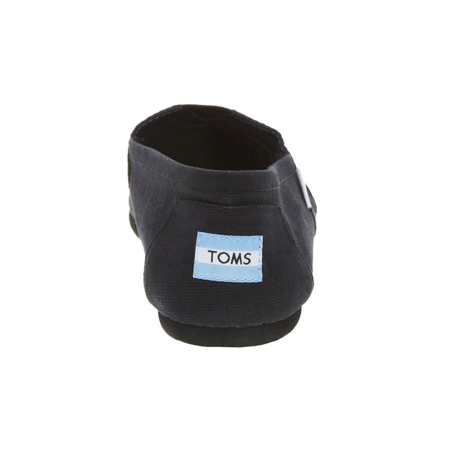 Černé Slip on toms, černá, 819-6003 - 17