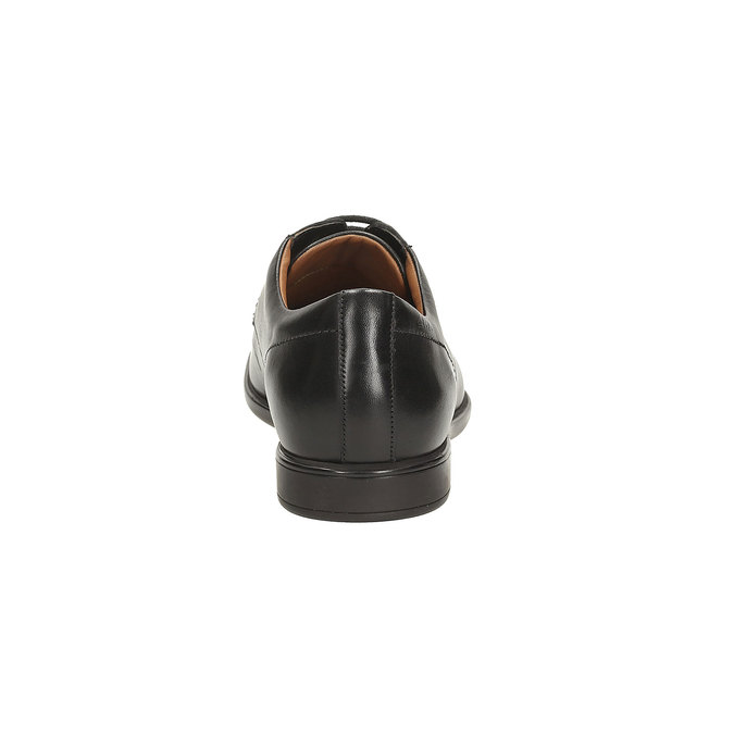 Leather Derby Shoes clarks, černá, 824-6322 - 17