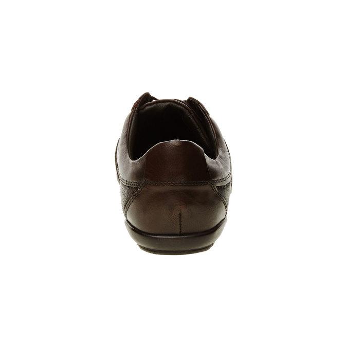 Ležérní kožené tenisky levis, hnědá, 844-4544 - 17