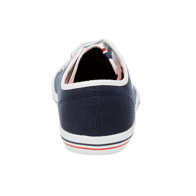 Dámské textilní tenisky le-coq-sportif, modrá, 589-9237 - 17