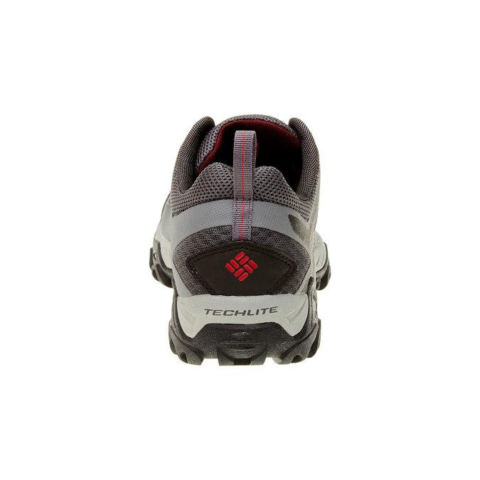 Pánská sportovní obuv columbia, šedá, černá, 849-6018 - 17