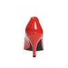 Dámské kožené lodičky insolia, červená, 728-5620 - 17