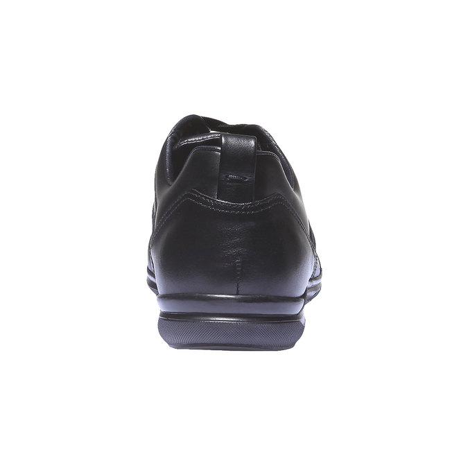 Kožené tenisky bata, černá, 824-6351 - 17