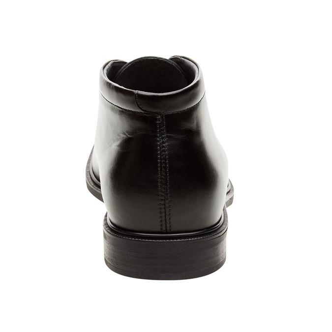 Kožené kotníčkové boty climatec, černá, 894-6209 - 17
