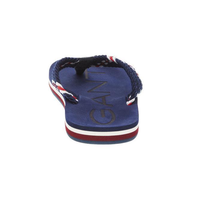 Pánské žabky gant, modrá, 869-9003 - 17