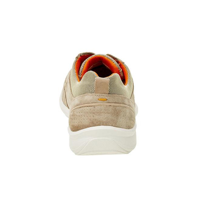 Ležérní kožené tenisky comfit, béžová, 843-8643 - 17
