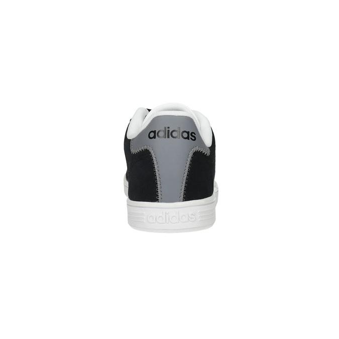 Pánské kožené tenisky adidas, černá, 803-6132 - 17