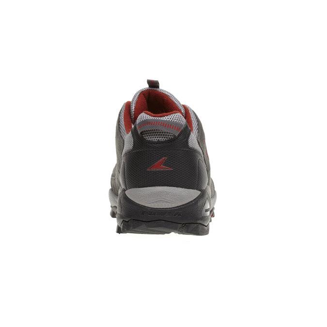 Kožená sportovní obuv power, šedá, 803-2284 - 17