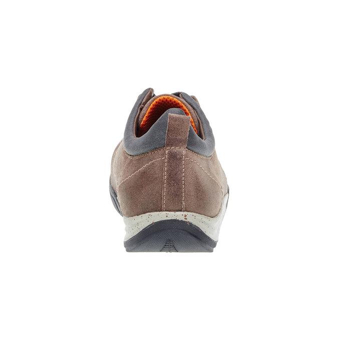 Kožené ležérní tenisky bata, hnědá, 843-3386 - 17