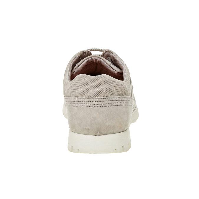 Ležérní kožené tenisky flexible, béžová, 846-2650 - 17