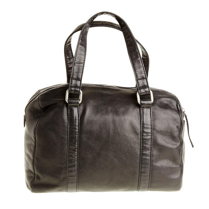 Kožená kabelka se střapcem bata, černá, 964-6190 - 26