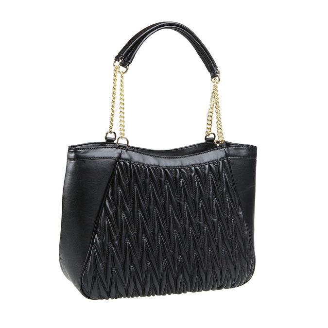 Dámská kabelka bata, černá, 961-6319 - 13