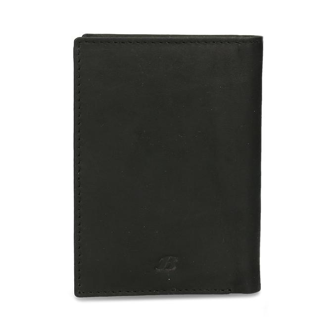 Kožené pouzdro na karty bata, černá, 944-6158 - 26