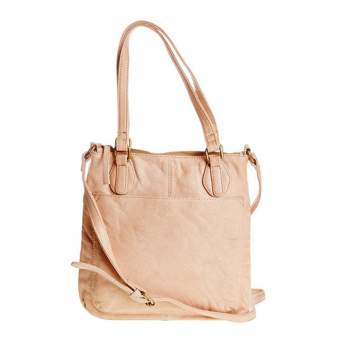 Kožená kabelka s popruhem bata, 964-5189 - 26