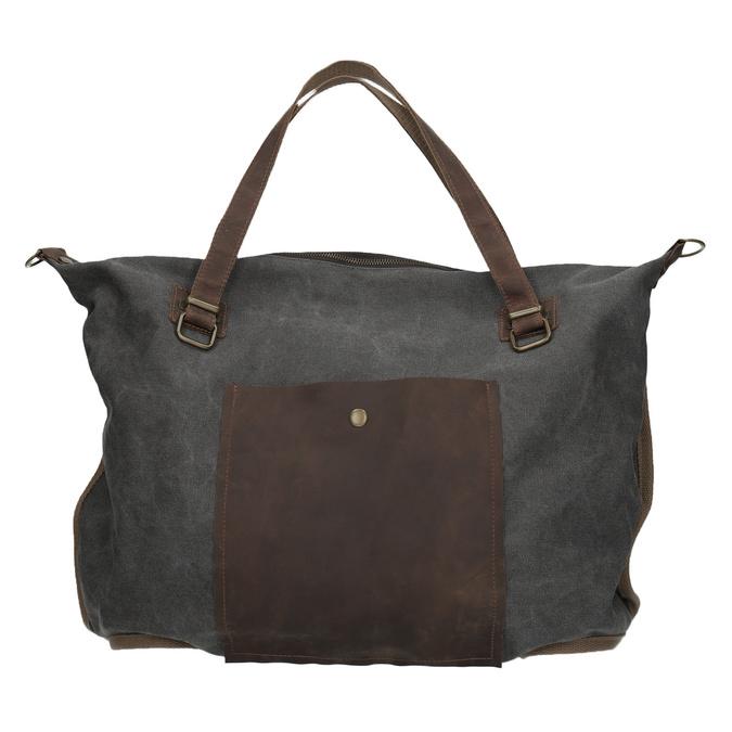 Velká taška s popruhem weinbrenner, šedá, 969-2620 - 26
