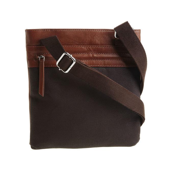 Pánská kožená Crossbody taška bata, hnědá, 964-4184 - 26