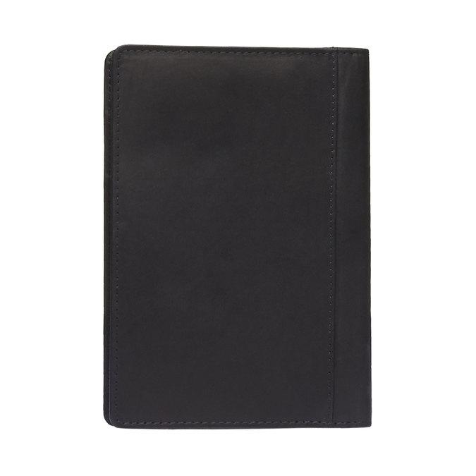 Kožené pouzdro na karty bata, černá, 944-6159 - 26