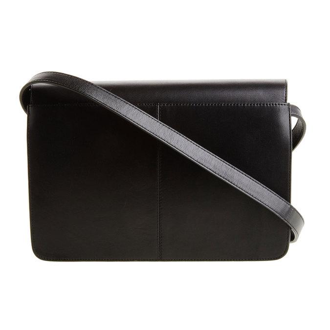 Kožená Crossbody kabelka vagabond, černá, 964-6097 - 26