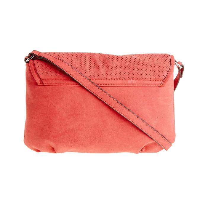 Crossbody kabelka se střapcem bata, červená, 961-5759 - 26