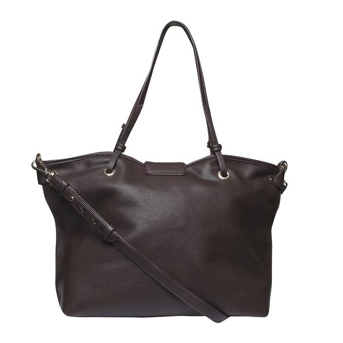 Womens Tote Bag bata, hnědá, 961-4365 - 26