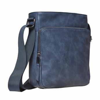 Pánská Crossbody taška bata, modrá, 961-9783 - 13