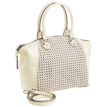 Dámská kabelka s odnímatelným popruhem bata, béžová, 961-8796 - 13