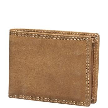 Pánská kožená peněženka bata, hnědá, 944-3129 - 13