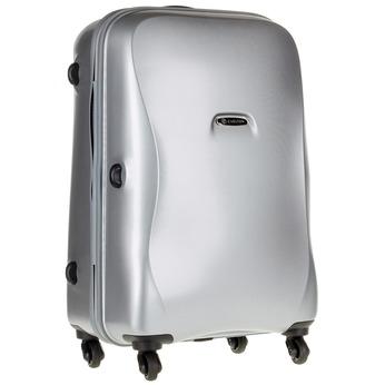 Skořepinový kufr na kolečkách carlton, šedá, 960-2102 - 13