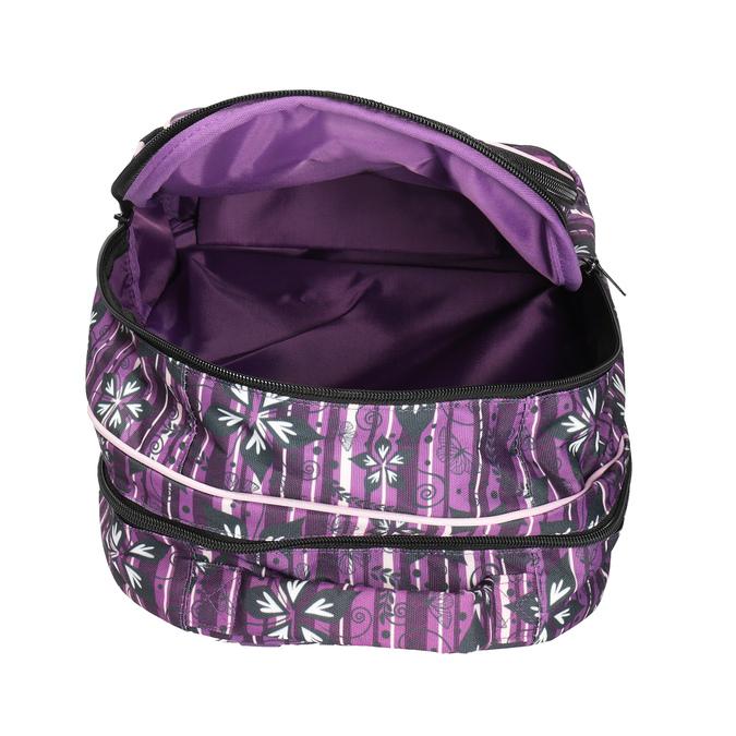 Fialový školní batoh belmil, fialová, 969-5628 - 15