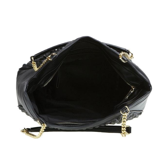 Dámská kabelka bata, černá, 961-6319 - 15