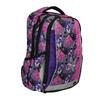 Školní batoh s motýlky bagmaster, růžová, fialová, 969-5607 - 13