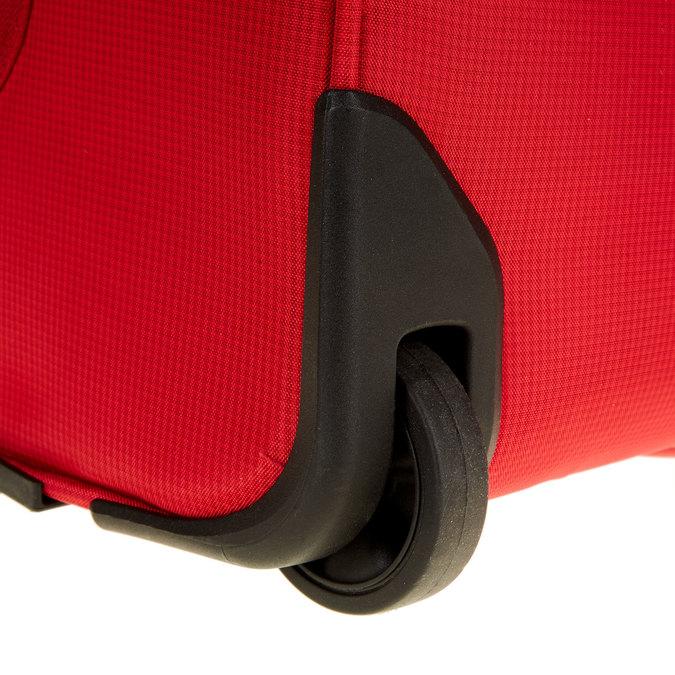 Kufr na kolečkách carlton, červená, 969-5145 - 19