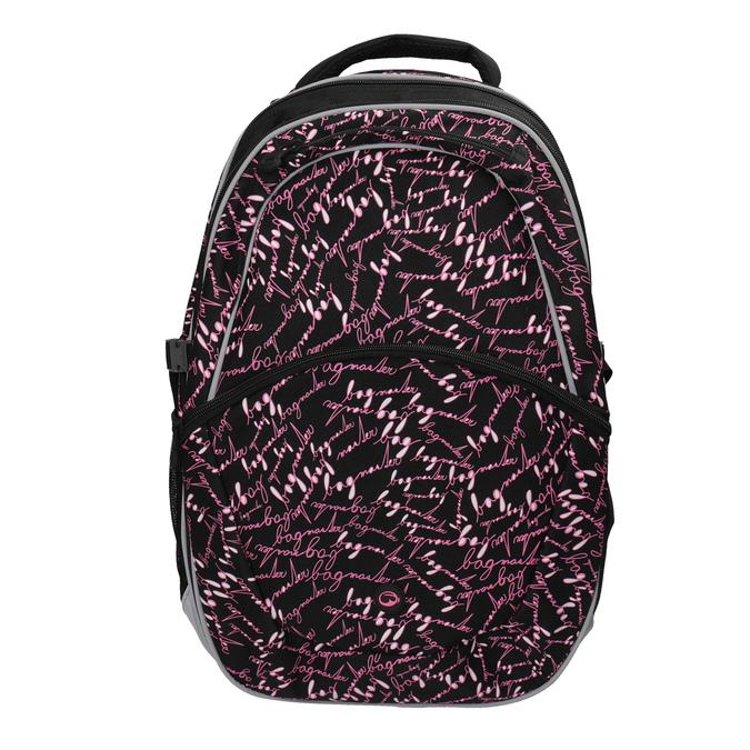 Školní batoh s potiskem bagmaster, černá, 969-6602 - 19