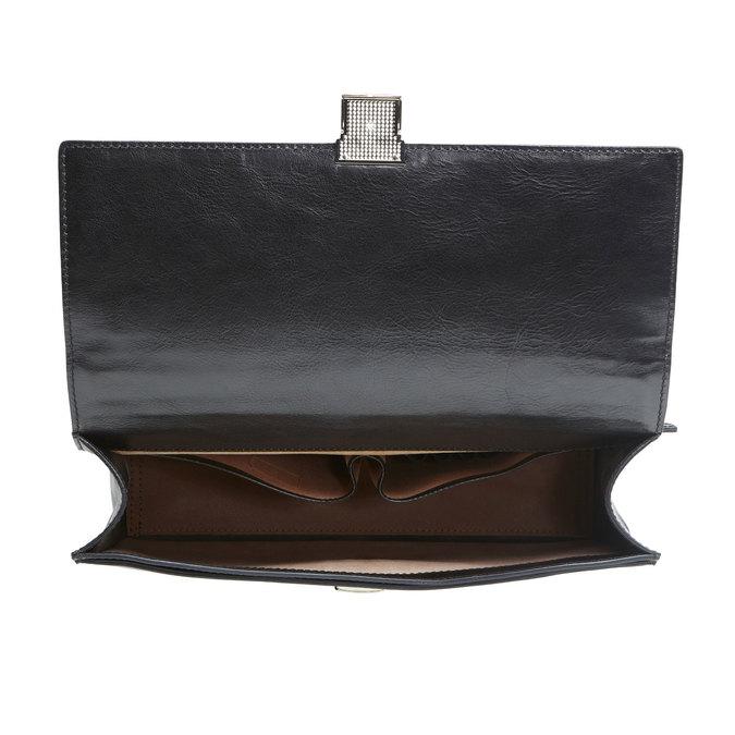 Kožená brašna elega, černá, 964-6155 - 15