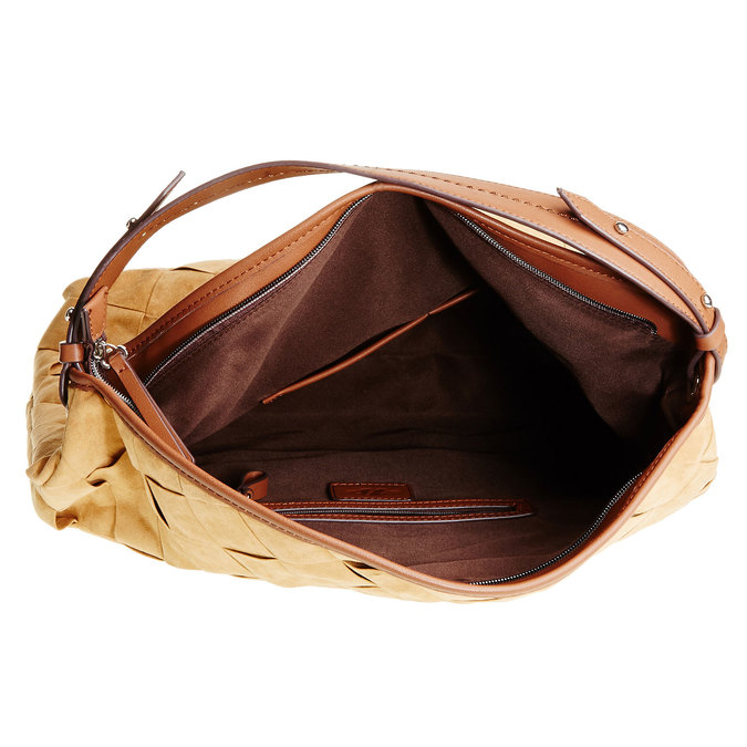 Hobo kabelka bata, žlutá, 969-8259 - 15
