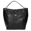 Černá kabelka v Hobo stylu bata, černá, 961-6808 - 19