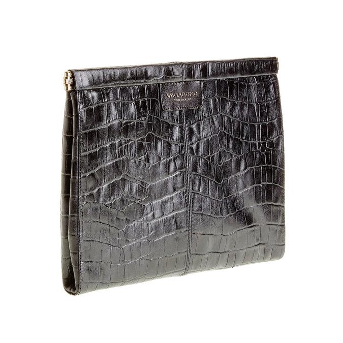 Kožené psaníčko vagabond, černá, 966-6095 - 13