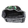 Zelený školní batoh bagmaster, zelená, 969-7612 - 15