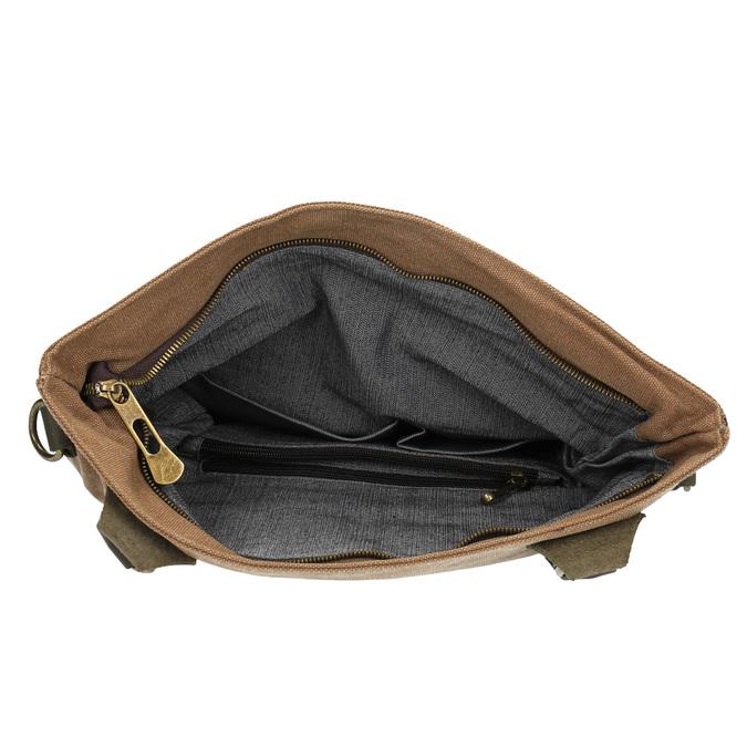 Prostorná Crossbody taška weinbrenner, hnědá, 969-8616 - 15