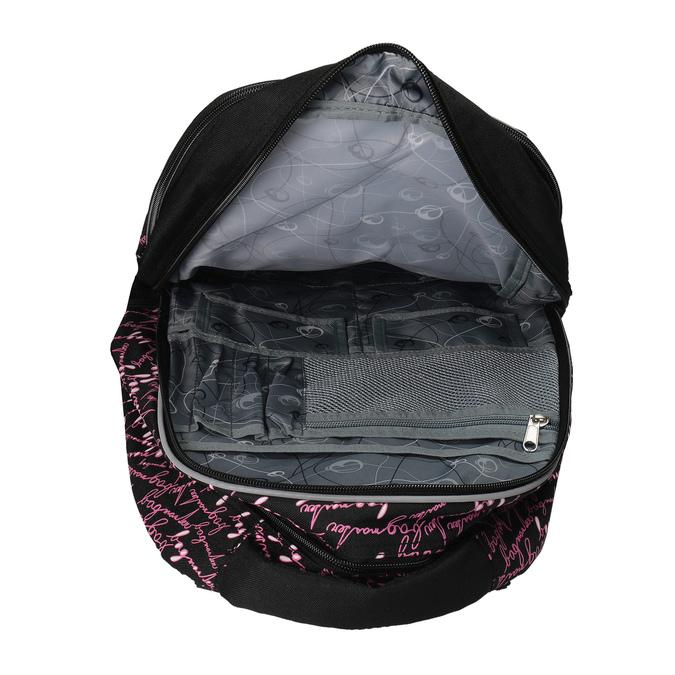 Školní batoh s potiskem bagmaster, černá, 969-6602 - 15