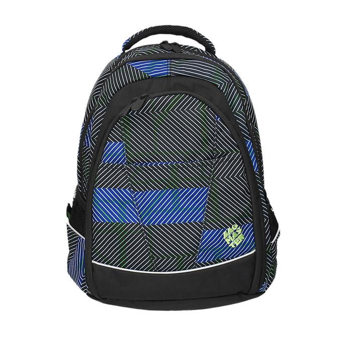 Školní batoh s potiskem bagmaster, modrá, 969-9614 - 19
