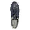 Kožené tenisky s prodyšnou podešví geox, modrá, 823-9030 - 19