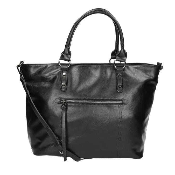 Černá dámská kabelka bata, černá, 961-6857 - 26