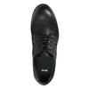Kožené polobotky v ležérním designu bata, černá, 826-6732 - 19